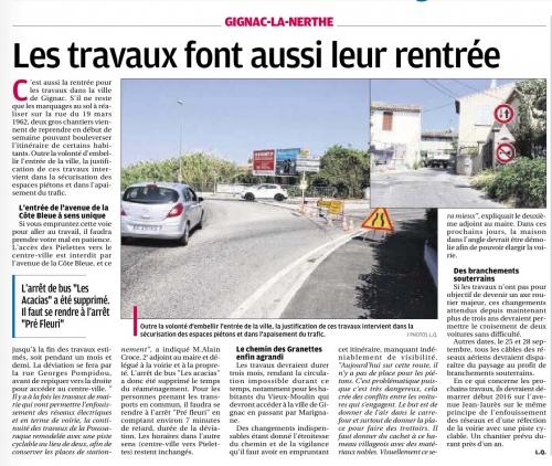 La Provence 3 septembre 2015 travaux voirie.jpg