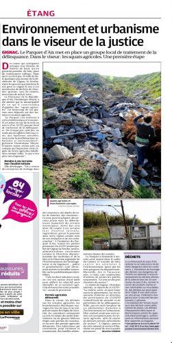 Environnement et urbanisme dans le viseur de la justice - La Provence 25 avril 2013.JPG