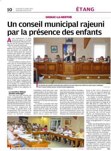 La Provence du 12 juillet 2013 C.M.jpg