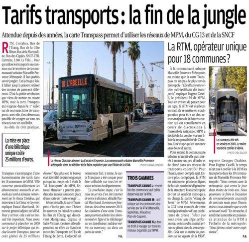 La Provence 18 juillet 2013 TARIFS TRANSPORTS.jpg