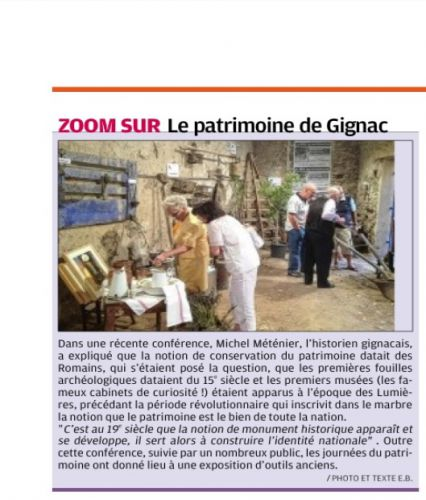 La Provence 28 sept 2013 PATRIMOINE.png