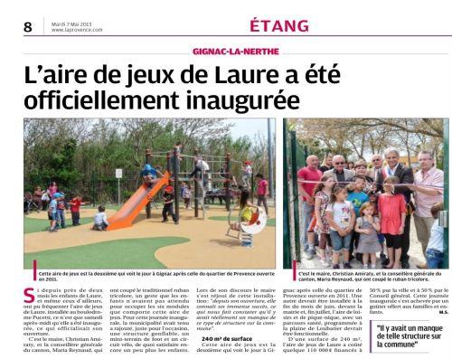 La Provence 7 mai 2013 - Aire de jeux.jpg