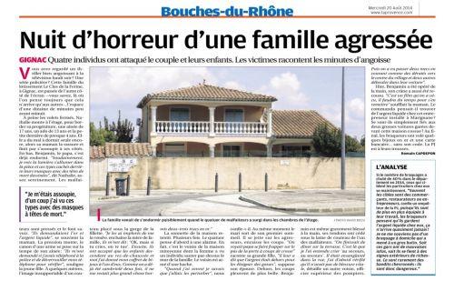 La Provence 20 AOÜT 2014 FAMILLE AGRESSEE AV DU STADE.png