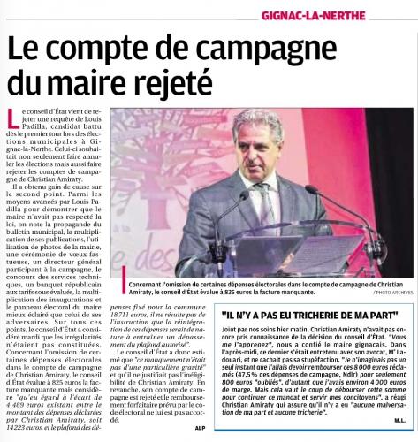 La Provence 11 juin 2015 Comptes de campagne rejetés.jpg