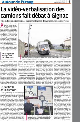 La Provence 5 mars 2015 VAO POIDS LOURDS.jpg