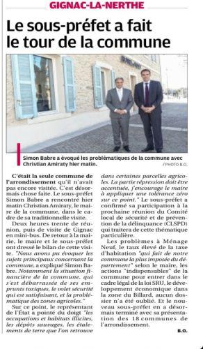 Sous préfet à Gignac - La Provence.jpg