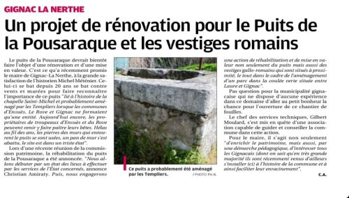 La Provence 21avril 2013 Puits de la Pousaraque.jpg