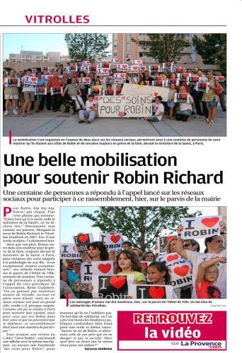 LA PROVENCE 9 AOUT 2013 MOBILISATION POUR ROBIN.jpg