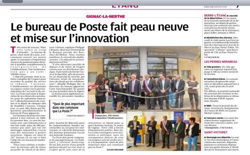 La Provence 27 avril 2013 - La Poste fait peau neuve.jpg