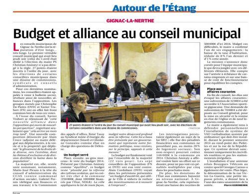 La Provence 19 avril 2014 2 ème conseil municipal - alliance DROITE - FN.png
