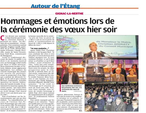 La Provence 25 janvier 2014 Voeux du maire.png