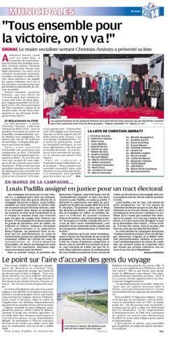 La Provence 8 MARS 2014.jpg