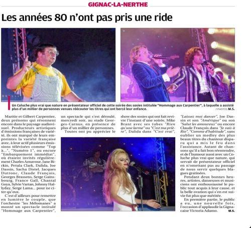 La Provence 26 juillet 2013 soirée Carpentier.jpg