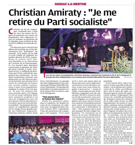 La Provence 25 janvier 2015.jpg