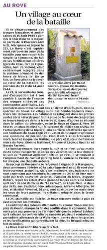 La Provence 26 AOUT 2014 70 ème Libération du ROVE.png