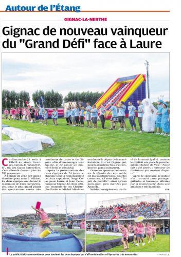 La Provence 27 AOUT 2014 LE GRAND DEFI.png
