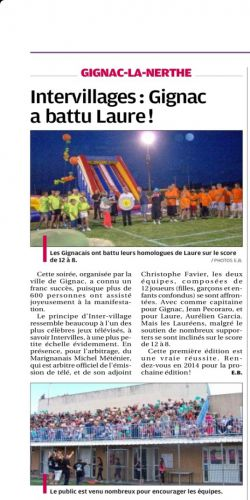 La Provence 30 AOUT 2013 INTERVILLAGE.jpg