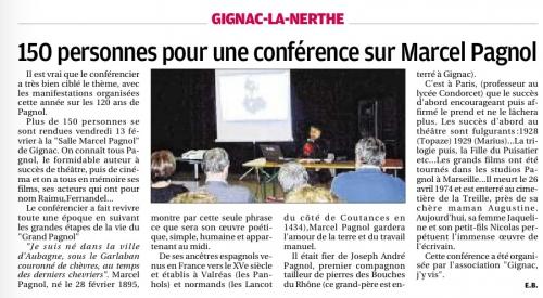 La Provence mardi 24 fév 2015 conf Marcel Pagnol GNV.jpg